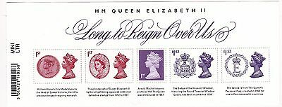 2015 Long To Reign Over Us Mint Minature Sheet