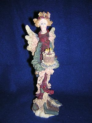Boyds Bears Folkstone BEATRICE THE BIRTHDAY ANGEL 1E New Never Displayed