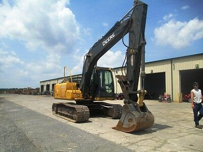 2011 John Deere 120D Hydraulic Excavator, Only 3914 Hrs