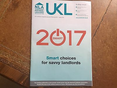 UK Landlord Magazine - UKL - NLA National Landlords Association - Jan / Feb 2017