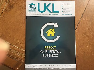 UK Landlord Magazine - UKL - NLA National Landlords Association - Jan / Feb 2016