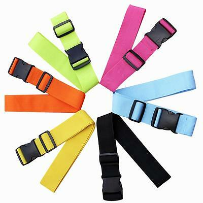 Suitcase Luggage Buckle Strap Travel Baggage Security Tie Down Utility Belt BI