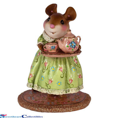 Wee Forest Folk A Cosy Tea Spring  M-594c Limited to 300 New 2017
