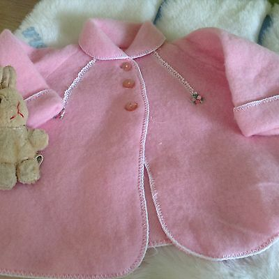 AUTHENTIC VINTAGE INFANT BABY CHILDRENS PRAM COAT 6 MONTHS  70 s  UNUSED