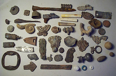 Dug Big Lot Artifacts Metal Detecting Finds Post Medieval And Later.