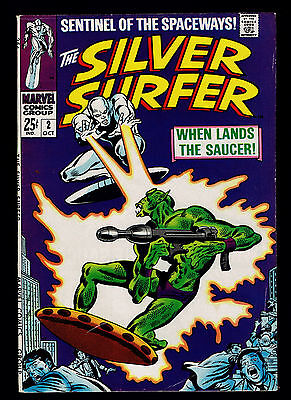 1968 Marvel Silver Surfer #2 FN to VF
