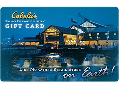 Cabelas Gift Card $10