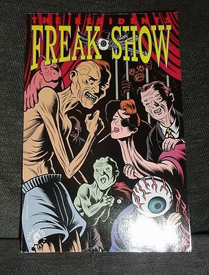 THE RESIDENTS Freak Show RARE COMIC GRAPHIC NOVEL Dark Horse 1992 Brian Bolland