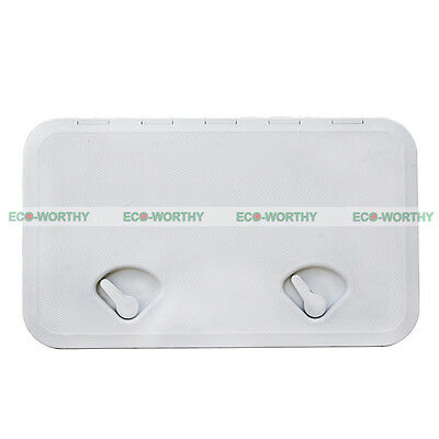 606mm x 353 mm Access Marine&Plastic Hatch Inspection ABS Made for Marine RV