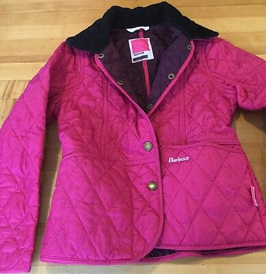 Barbour Jacket - Girl's Size Small (6-7)