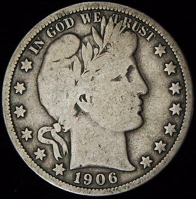 1906-O Circulated Barber Half - Best Value @ CherrypickerCoins-874
