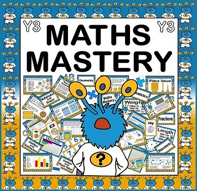 Cd Maths Mastery Teaching Resources For Year 3 Ks2 Numeracy Captain Conjecture