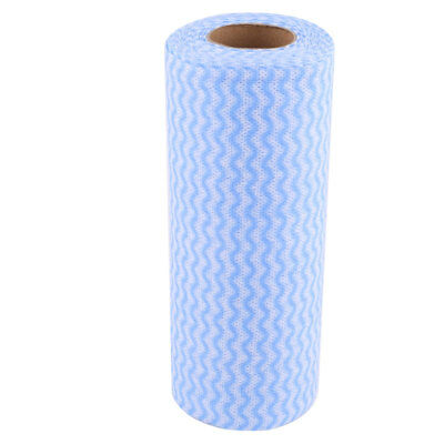 Home Restaurant Non-woven Fabric Bowl Pot Plate Washable Cleaning Cloth Roll