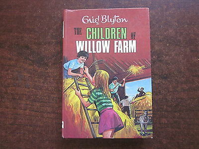 THE CHILDREN OF WILLOW FARM by Enid Blyton 1973 Vintage HC Book #43 Deans Reward