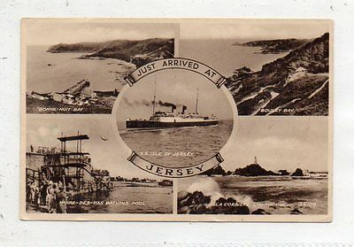 """""postcard Multiview Jersey,channel Islands"""""