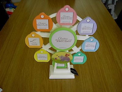 Clinton's Musical Ferris Wheel Photo Frame ~ Brand New & Boxed ~ Rrp £32.00