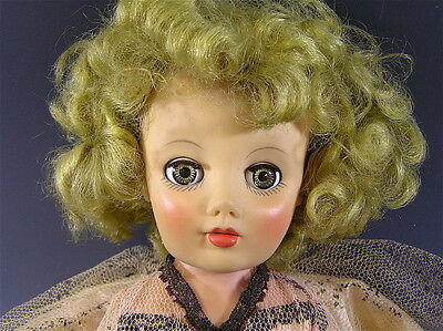 "Vintage Soft Plastic Doll, 1950s Original Clothes ""CINDY"" HORSMAN"