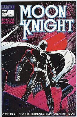 Moon Knight Special Edition #1, 2 & 3  NM+ (complete set of 3)