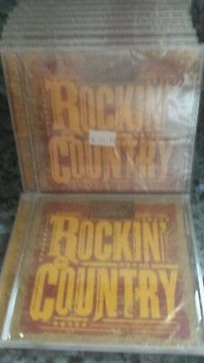 Lot of 10 BRAND NEW WRANGLER ROCKING THE COUNTRY PROMO CD 2006
