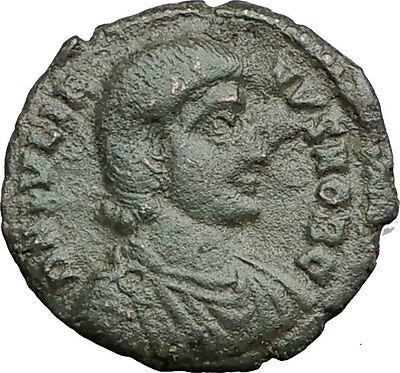 JULIAN II as Caesar 355AD Authentic Ancient Roman Coin HORSE BATTLE SCENE i62732