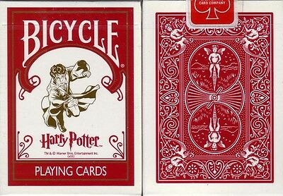 1st Edition Bicycle Harry Potter Playing Cards Decks W/3 Jokers Ohio Made!