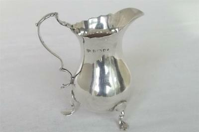 A Fine Solid Sterling Silver Late Victorian Cream Jug By George Unite Dates 1900