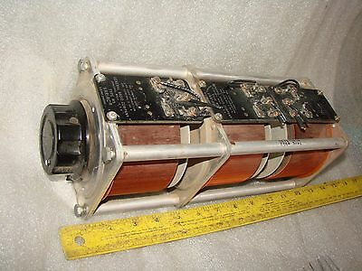 3 GENERAL RADIO W5 TRIPLE STACK VARIAC 0-120V 6 amps each