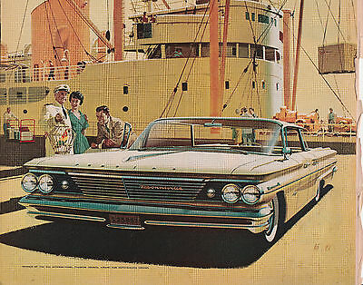 ad from LIFE magazine dated May 16, 1960  -  Pontiac - wide track