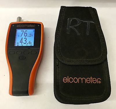Elcometer 308 Hygrometer Handheld Relative Humidity and Surface Temperature Scan