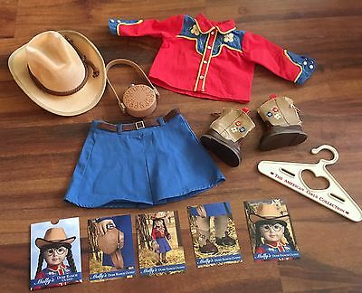 American Girl Doll MOLLY'S Dude Ranch Outfit HTF RETIRED WESTERN SET