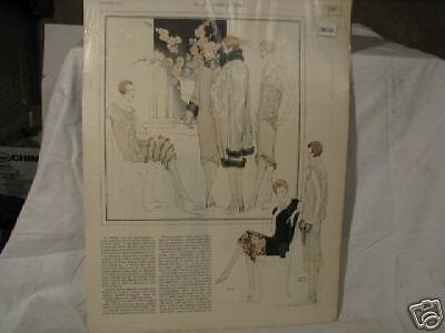 1925The Ladies Home Journal AD for WOMENS'S DRESSES