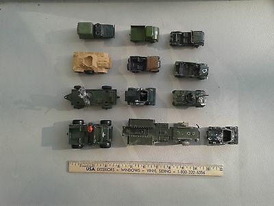 MECANNO DINKY LONE STAR MATCHBOX CORGI SOLIDA ARMY SERIES DIE CAST Lot #1