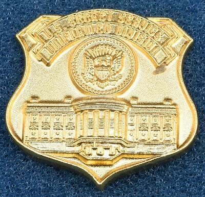 Vintage 1990s US Secret Service Lapel Pin Uniformed Division Officer White House