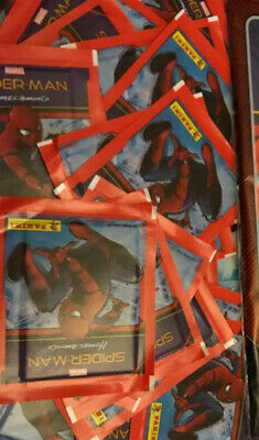 Marvel Spider-Man Home Coming Full Box 50 Sealed Packets And Album