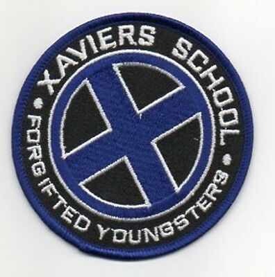 Parche X.men Xavier School For Gifted Youngsters Azul 9 Cms   Patch