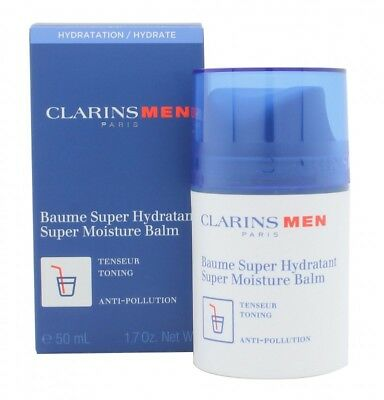 Clarins Men Super Moisture Balm - Men's For Him. New. Free Shipping
