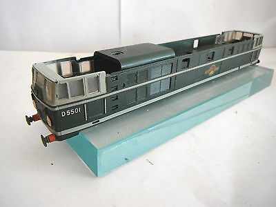 Triang Tt T96 A1A Brush Type 2 Diesel Loco Body Br Lined Green D5501