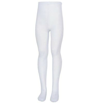 Nicole Baby Girls White Soft Stretchy Comfy Tights 0-24M