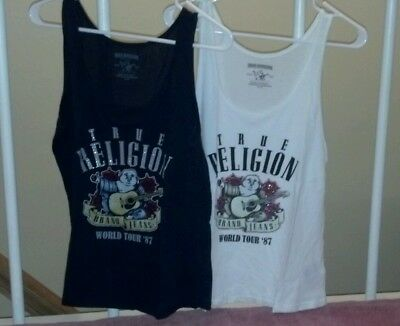 Lot of 2 True Religion Women's Tanks size M!!!