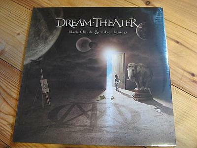 """Dream Theater """"black Clouds & Silver Linings"""" - 2Lp - Foc"""