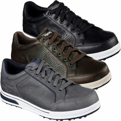 Skechers 2017 Mens GO Golf Drive 2 LX Spikeless Golf Shoes Water Resistant
