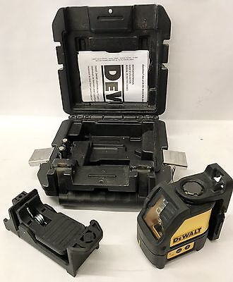 Dewalt DW087 Self leveling Cross Line Laser w/case