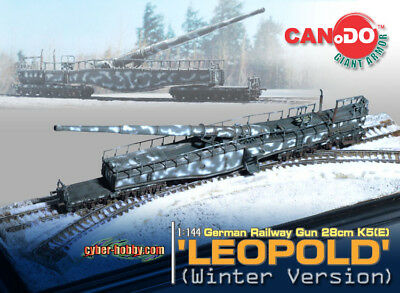 Dragon Can.Do Cyber Hobby 1/144 Scale WWII German Winter Leopold Railway Gun