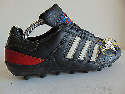 Vintage 80 ADIDAS Rio Moulee Scarpe 9.5 Calcio 44 Soccer Shoes Boots 90 France