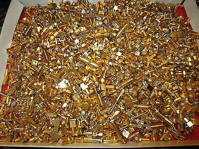 8.52oz(241.54grams) High Grade Gold Plated Connectors For Scrap Gold Recovery
