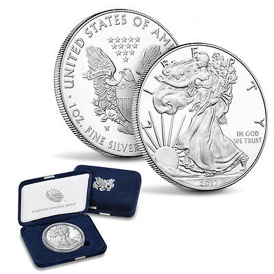 2017-W American Silver Eagle Proof 1 oz Coin (IN OGP)