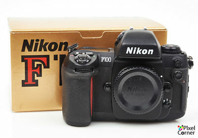Nikon F100 35mm film SLR semi-pro camera body - Boxed - 2319757