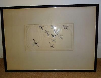 sale FRANK W BENSON  signed original etching old squaws no 2