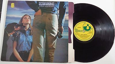 62C	Scorpions	Animal Magnetism	(SHSP 4113)	UK LP + card OIS, harvest 1980