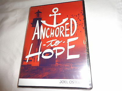 """1 Dvd, 2 Audio Cd's By Joel Osteen - """"anchored To Hope""""- Believe & Expect"""